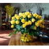 Lemon Yellow Rose delight at alamo heights flowers and more