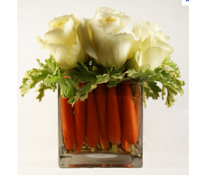 White Rose and Carrots Medley