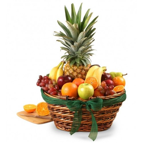Classic Fruit Basket by Alamo Heights Flowers and More