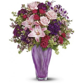 Lavender Elegance Bouquet by Alamo Heights Flowers and More