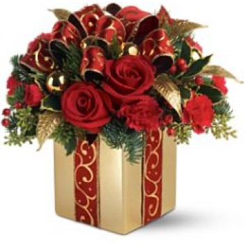 Holiday Gift Bouquet by Alamo Heights Flowers and More