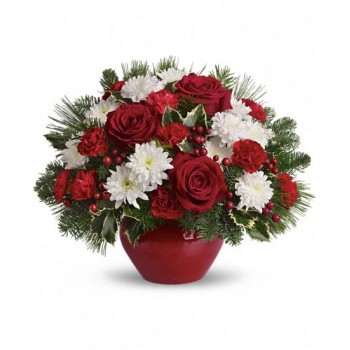 Christmas Treasure by Alamo Heights Flowers and More