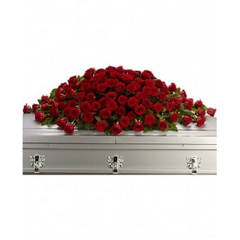 A Greatest Love Casket Spray by Alamo Heights Flowers and More