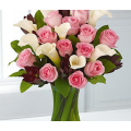 Calla Lilly and Pink Roses Surprise