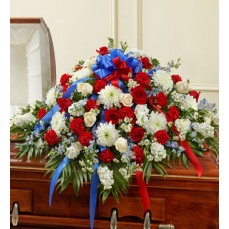 Cherished Memory Red White & Blue