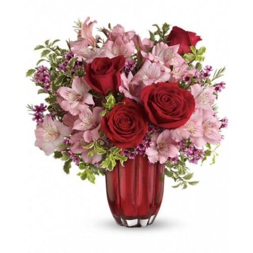 Heart's Treasure Bouquet by Alamo Heights Flowers and More