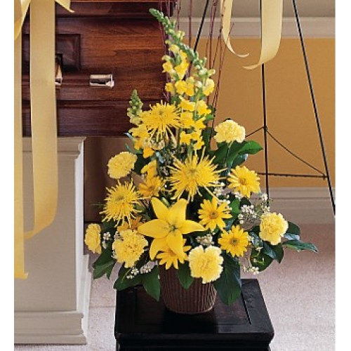 Brighter Blessings Arrangement by Alamo Heights Flowers and More