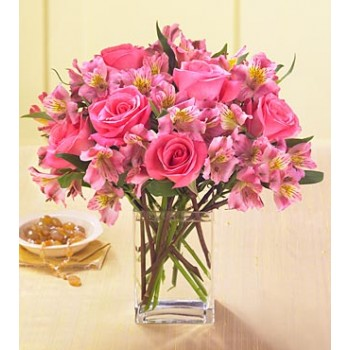 Dreamland Pink Bouquet by Alamo Heights Flowers and More