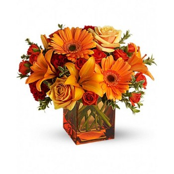 Sunrise Sunset Bouquet by Alamo Heights Flowers and More